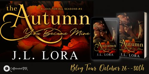 Autumn You Became Mine Blog tour Banner
